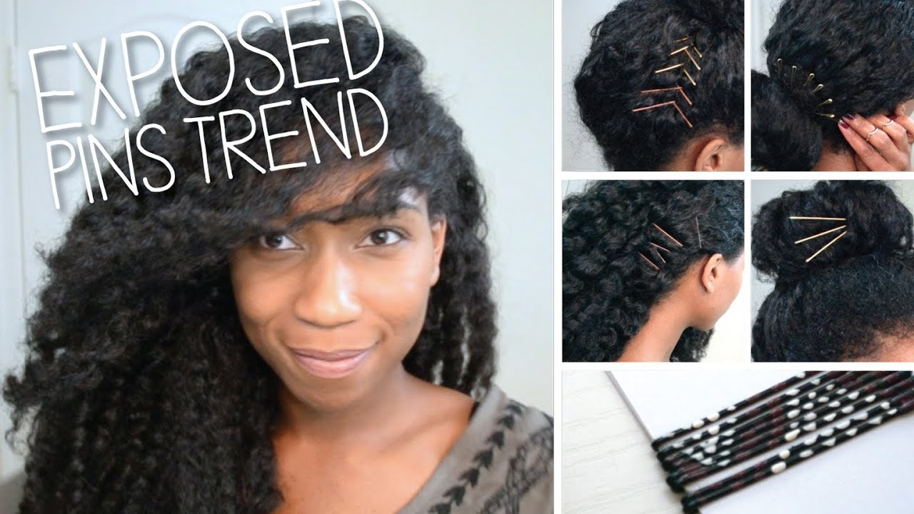 Hairstyles For Short Hair Using Bobby Pins: Wearable Exposed Pins Trend + DIY Decorative Bobby Pins