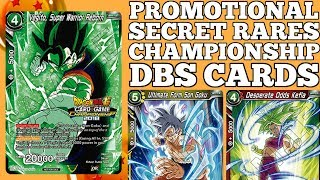 DBS SERIES 4: PROMOTIONAL PACKS, SECRET RARES, CHAMPIONSHIP CARDS Mp3