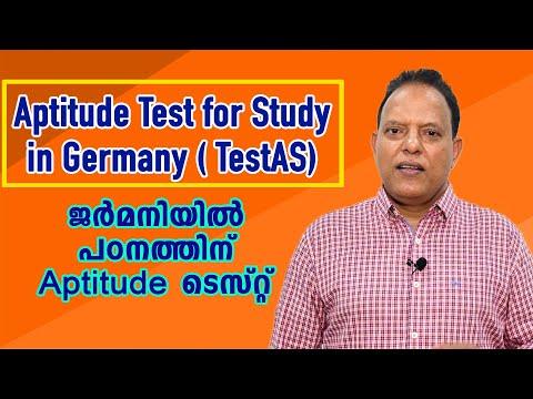 Aptitude Test for Academic studies in Germany ( TestAS)
