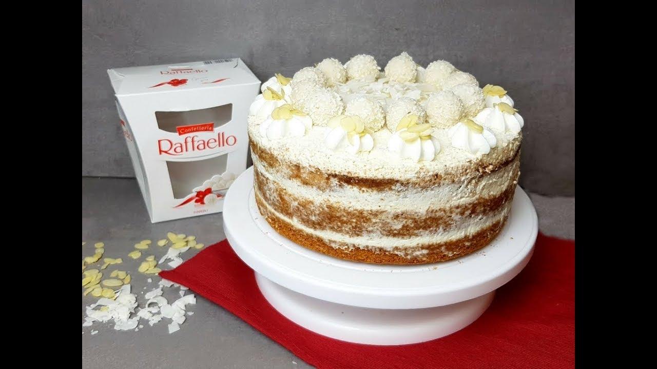 Traumhafte Raffaello Torte I Kokos Torte I Backen Mit Raffaello I