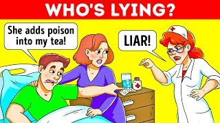 9 Dangerously Easy Riddles For Poison Experts