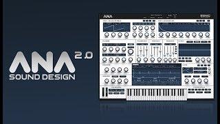 How To Use ANA 2 - Sound Design - 5. Retro Analog Poly Synth