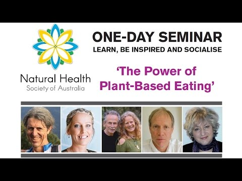 'Power of Plant-Based Eating' Seminar - Inspired To Run (Vegan) (Natural Health Society) March 2017