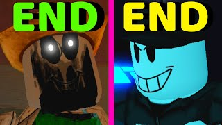 Roblox - All 2 Endings - Piggy Games!