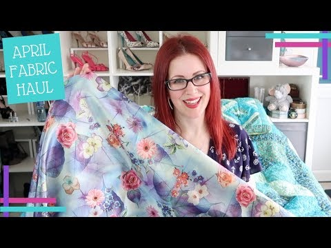 April Sewing Plans & Farbic Haul 2018