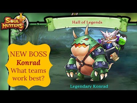 Soul Hunters  NEW HOL Boss Konrad is Here | How much damage can I do?