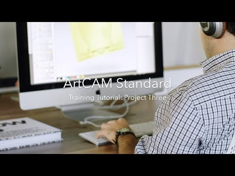 ArtCAM Standard: Project Three (Importing 3D Relief Models)