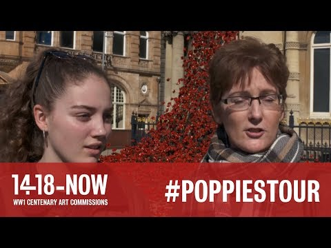 Poppies: Weeping Window at Hull Maritime Museum