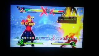 UMVC3 My Hawkeye Max Damage as Possible Happy Birthday combo