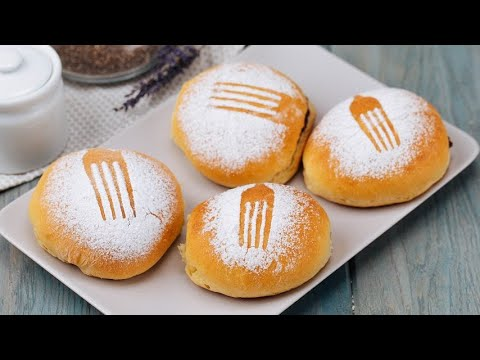 Fork brioche fragrant and soft perfect for your sweet snack