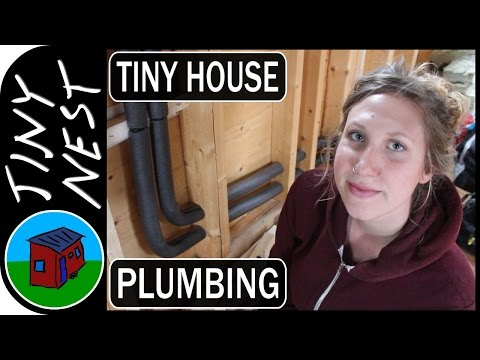 Tiny House Plumbing Rough-In (Ep. 30)
