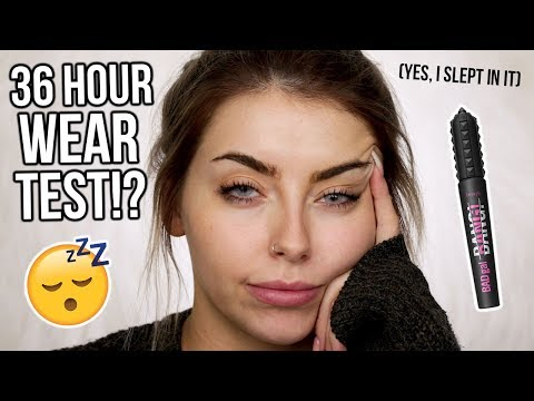 36 HOUR WEAR TEST!? BENEFIT BAD GAL BANG MASCARA HONEST REVIEW - WORTH THE HYPE!?