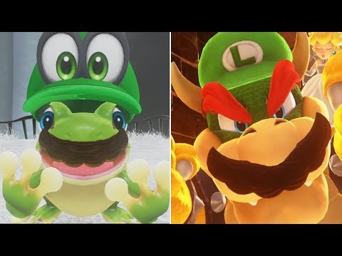 Super Luigi Odyssey - All Capture Transformations