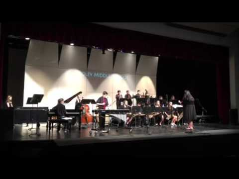 Blue and Sentimental - Cooley Middle School Jazz Band