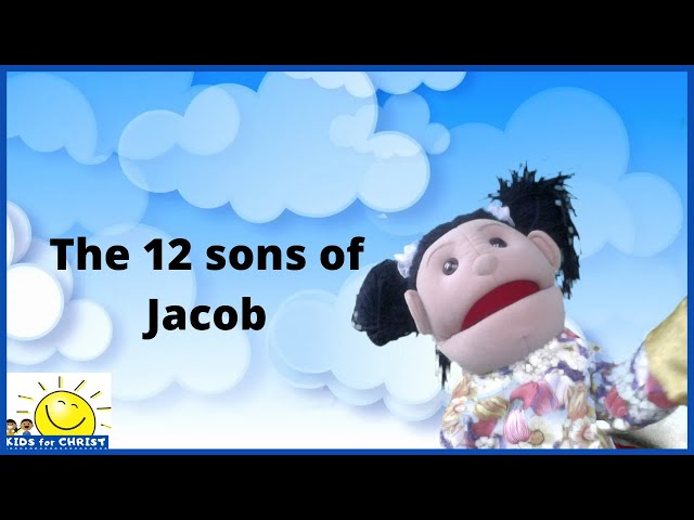 Learn the names of the 12 sons of Jacob in birth order