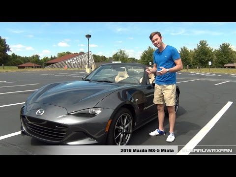 Review: 2016 Mazda MX-5 Miata (Manual) Grand Touring