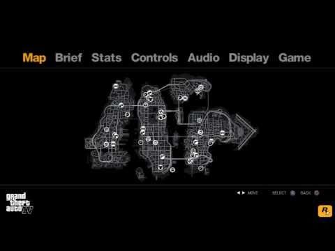 GTA IV  Pause Menu Song