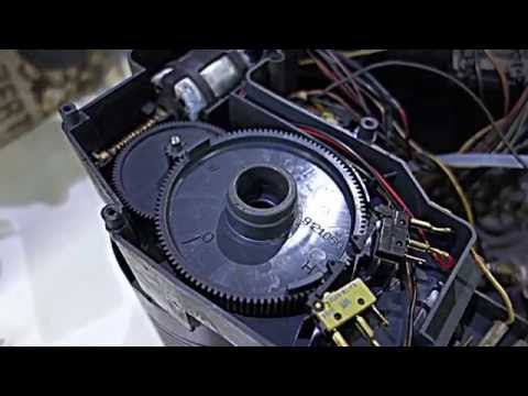 Saeco Royal/Magic and Gaggia Syncrony Digital replacing brew drive motor and gears
