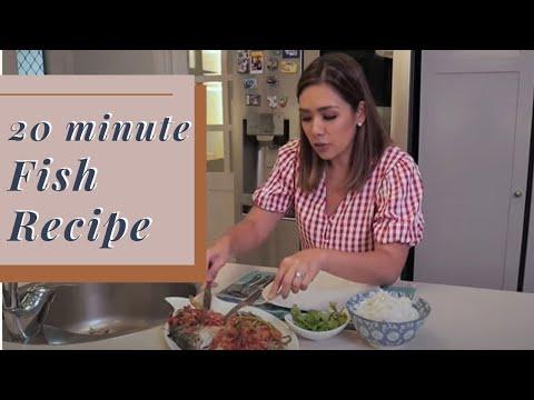 My 20 Minute Fish Recipe (Pompano Fish) By Danica Sotto-Pingris