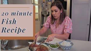 My 20 minute Fish Recipe (Pompano Fish)