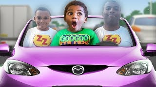 GOO GOO GAGA MAGICALLY TURN ZZ KID INTO A MAN LEARN HOW TO SPELL CAR WITH GOO GOO COLORS