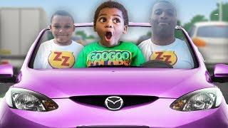 vuclip GOO GOO GAGA MAGICALLY TURN ZZ KID INTO A MAN! LEARN HOW TO SPELL CAR WITH GOO GOO COLORS