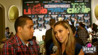 Crystina Poncher talks Top Rank producing the #PacquiaoVargas PPV/ future of Pacquiao