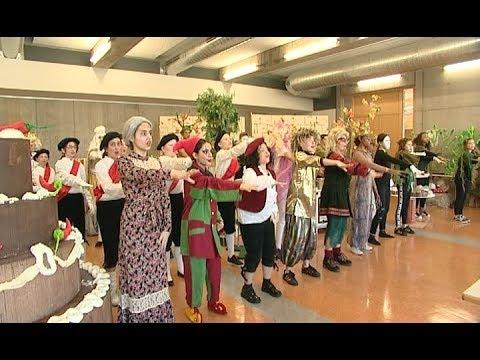 Rumpelstilzchen im Rampenlicht - Schüler der Eichendorff-Realschulen präsentieren ihr Musical
