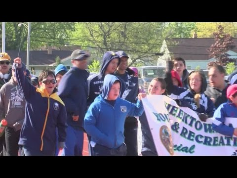 Torch run kicks off official Special Olympics event in Western New York