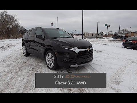 2019 Chevrolet Blazer 3.6L AWD|In Depth Review|Test Drive|