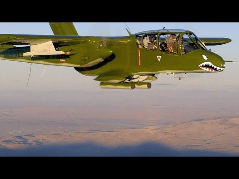 Why the OV-10 Bronco May Be the Ideal Plane to Combat ISIS