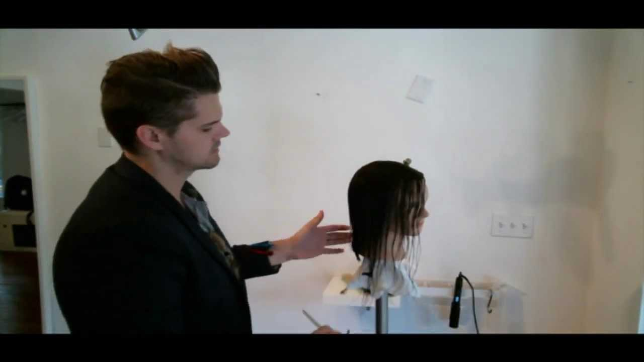HOW TO CUT A ONE LENGTH HAIRCUT (LIVE WEB CLASS) 10/2/13