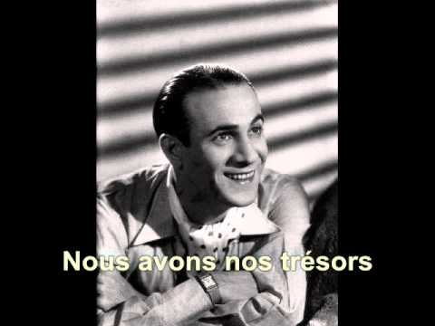 Luis Mariano - Rossignol - Paroles - Lyrics | Doovi