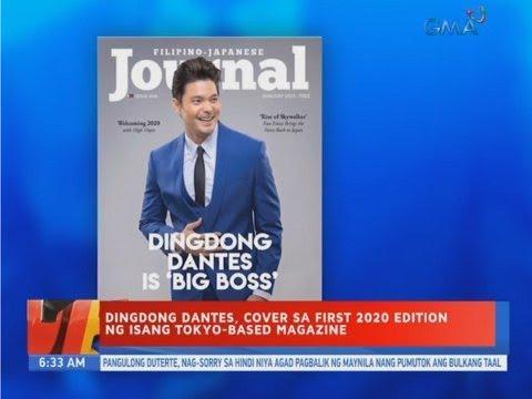 UB: Dingdong Dantes, cover sa first 2020 edition ng isang Tokyo-based magazine - 동영상