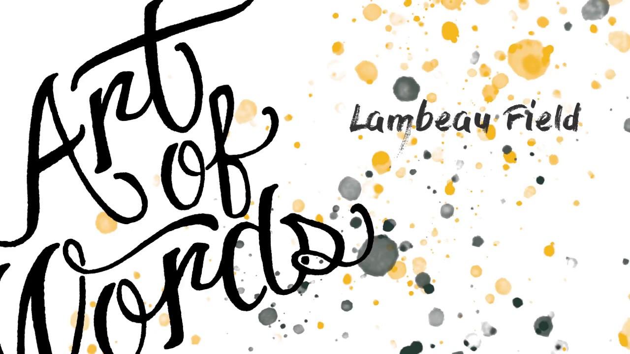 56ef2953 Artist recreates Lambeau Field by handwriting names of every Packers ...