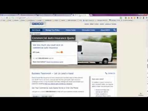 Commercial Car Insurance Quotes Online