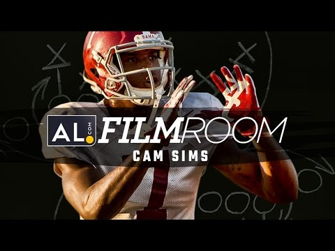 Film Room: Cam Sims looking to be the next breakout WR for Alabama