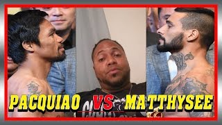 PACQUIAO vs MATTHYSEE POST FIGHT RECAP