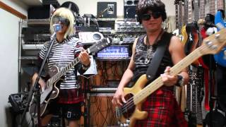 ドクロバニー自宅ライブ / Sheena Is a Punk Rocker (Cover) 151004