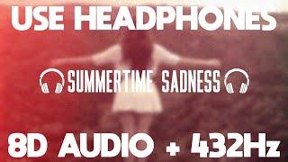Lana del rey - summertime sadness (8d ...