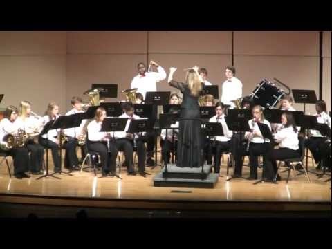 Wheeler County High School Concert Band Performance - March 16, 2012