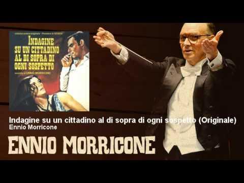 Ennio Morricone Indagine Su Un Cittadino Al Di Sopra Di Ogni Sospetto Colonna Sonora Originale Del F