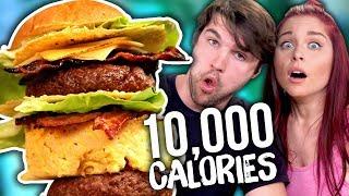 10,000 Calorie Burger Challenge!