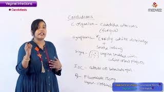 vaginal Infections - OBG / GYNE for Fmge and Neet pg by Dr Ramya
