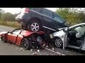 Ferrari Luxury Cars Accident    Very Shocking Video