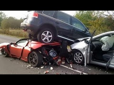 Ferrari Luxury Cars Accident Very Shocking Video Youtube