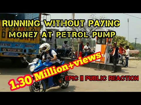 Running Without Paying Money at Petrol Pump || Epic Public Reaction