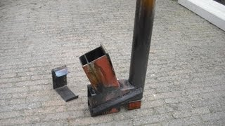 Rocket stove (heater) on steroids part 2
