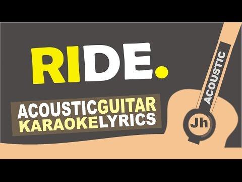 Twenty one pilots: Ride [ Karaoke Acoustic ]