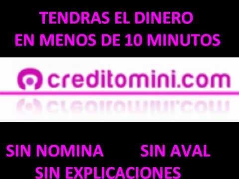 creditomini, mini creditos y mini prestamos rapidos online, micro creditos, dinero en 10 minutos de YouTube · Duración:  40 segundos